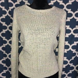 Lauren Conrad Pastel & Metalic Knit Sweater